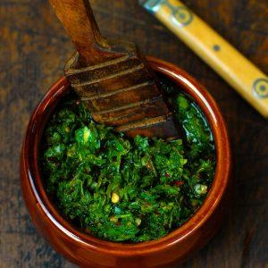 Chimichurri - Argentinian Herb Sauce