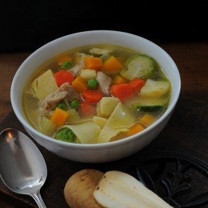 It's a chicken soup kind of a day