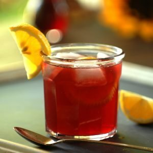 hibiscus syrup
