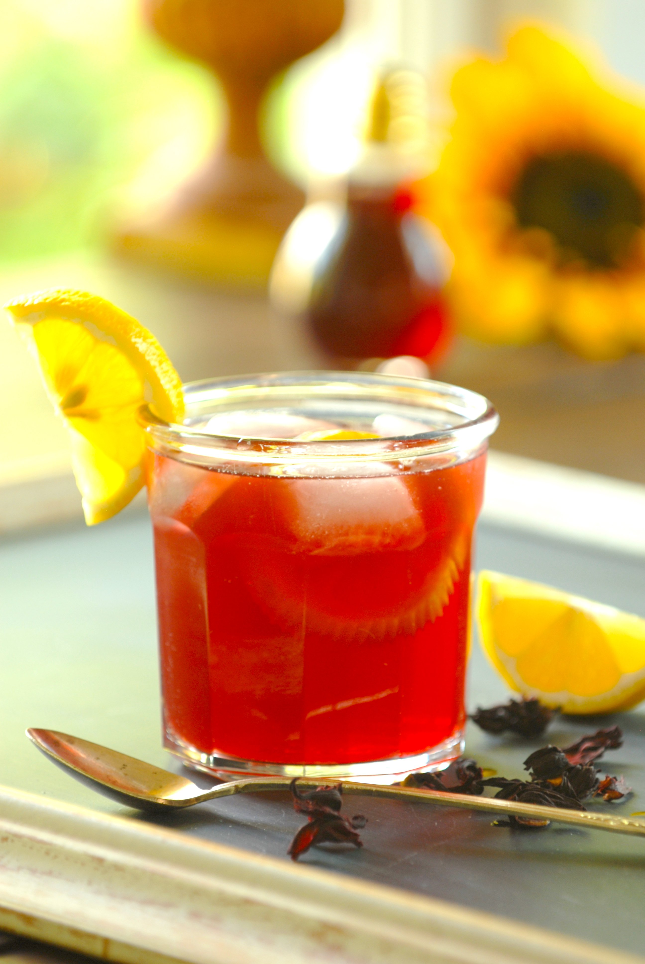 Flower Power Hibiscus Syrup Norberts Kitchen