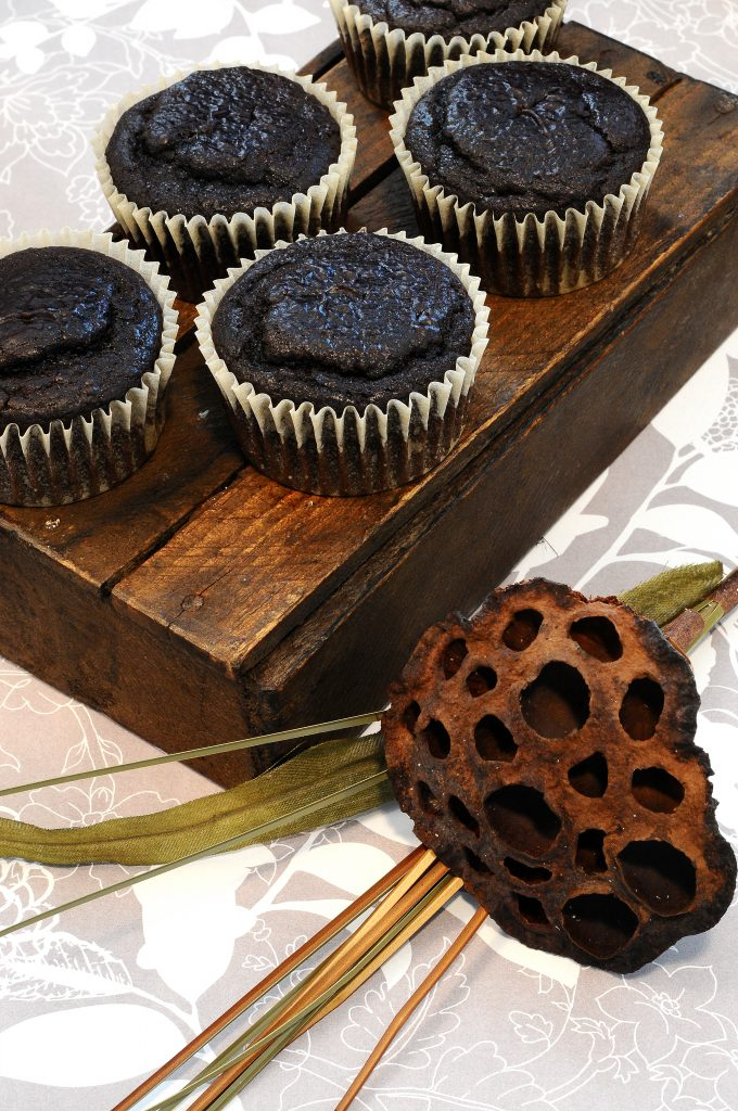 Black Bean Chocolate Cup Cake