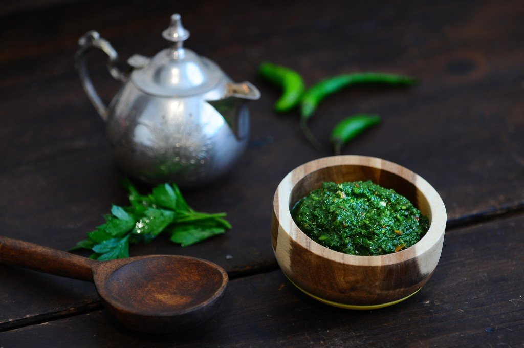 ... , cardamom and cumin, is basically another version of a Chimichurri