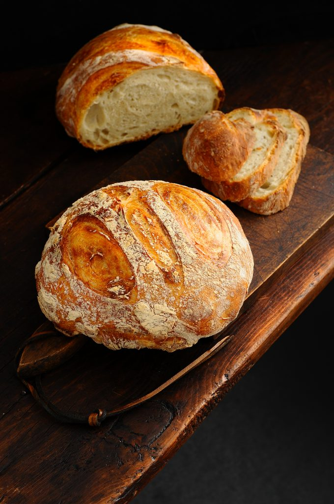 Farmers Bread: Flour - Water - Time - Yeast - Salt