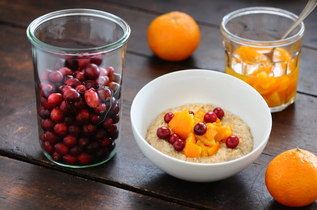 Quark, Tangerine & Honeyed Cranberries