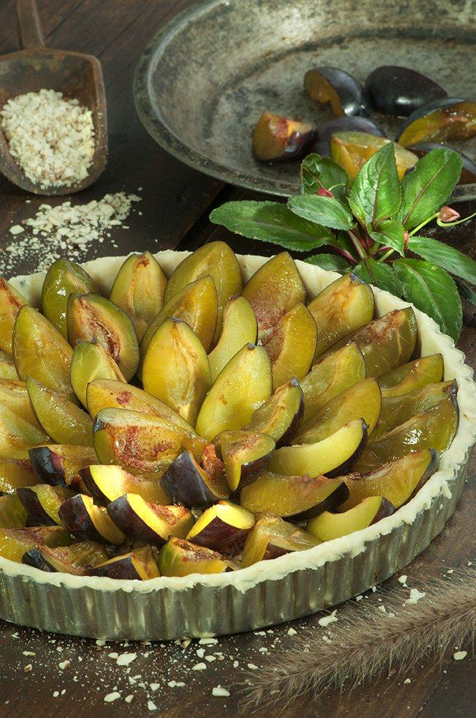 italian prune tart