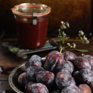 sugar free plum marmalade