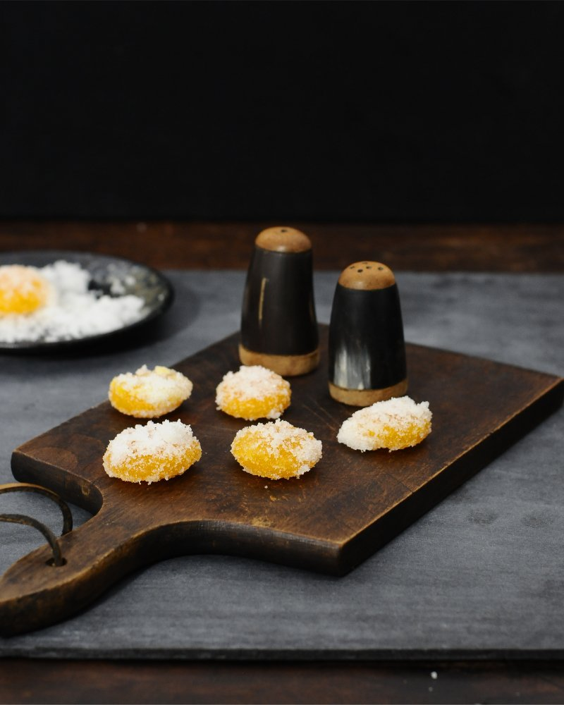 Salt Cured Egg Yolk