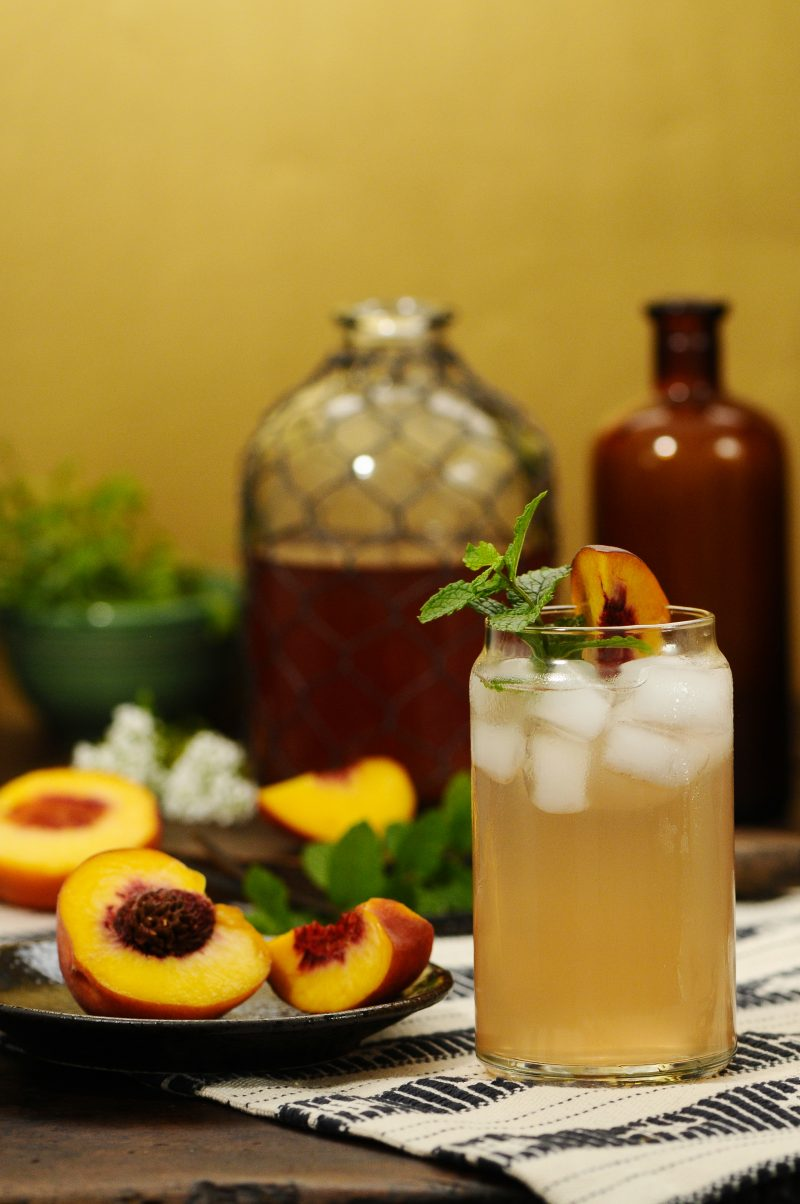 Peach Lavender Shrub
