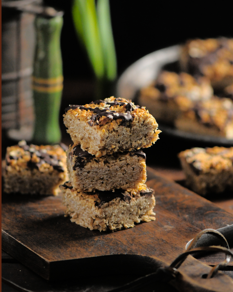 Irish Oat Flapjacks - a classic for a reason